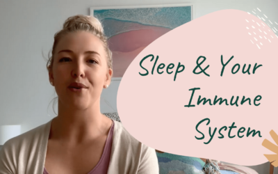 Is your sleep impacting on your immune system?